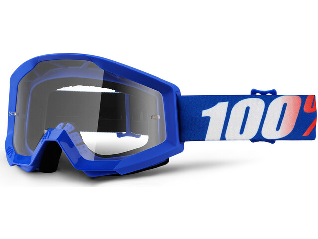 100% Strata Anti Fog Clear Goggles Kinder nation